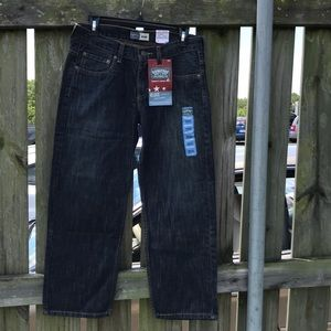 NWT Levi's Signature Relaxed Straight Jeans Husky